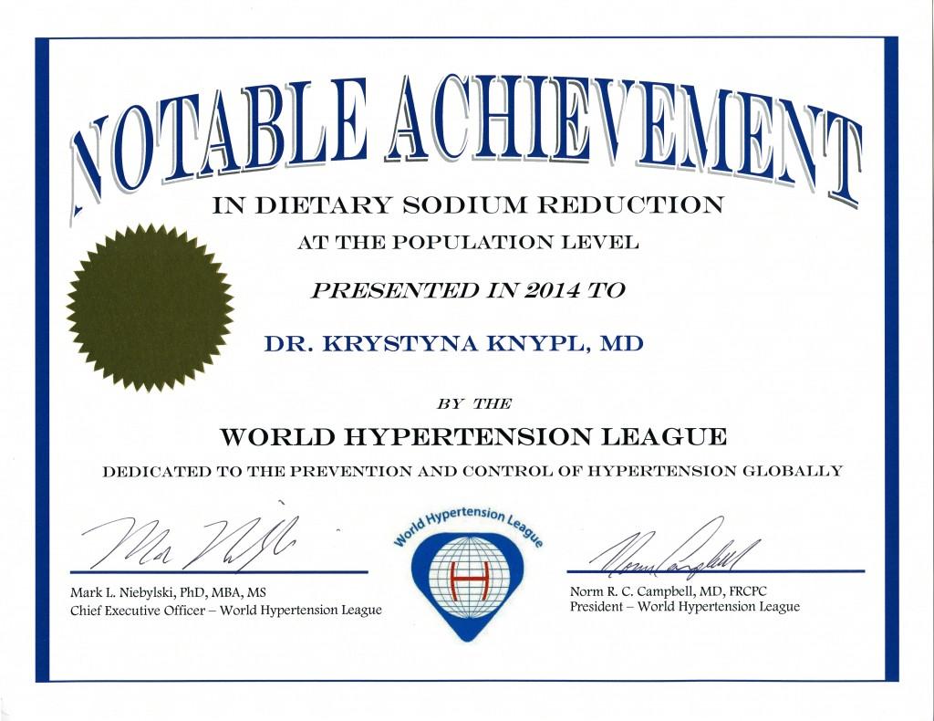 krystyna_knypl_notable_achievement